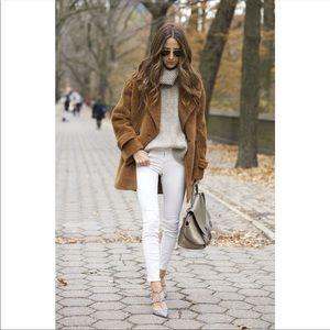 NWOT Current/Elliott Stiletto white skinny jeans
